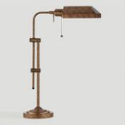 Chemist's Table Lamp, Rust