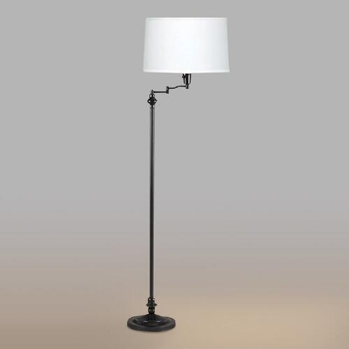 Dark Bronze Swing Arm Floor Lamp