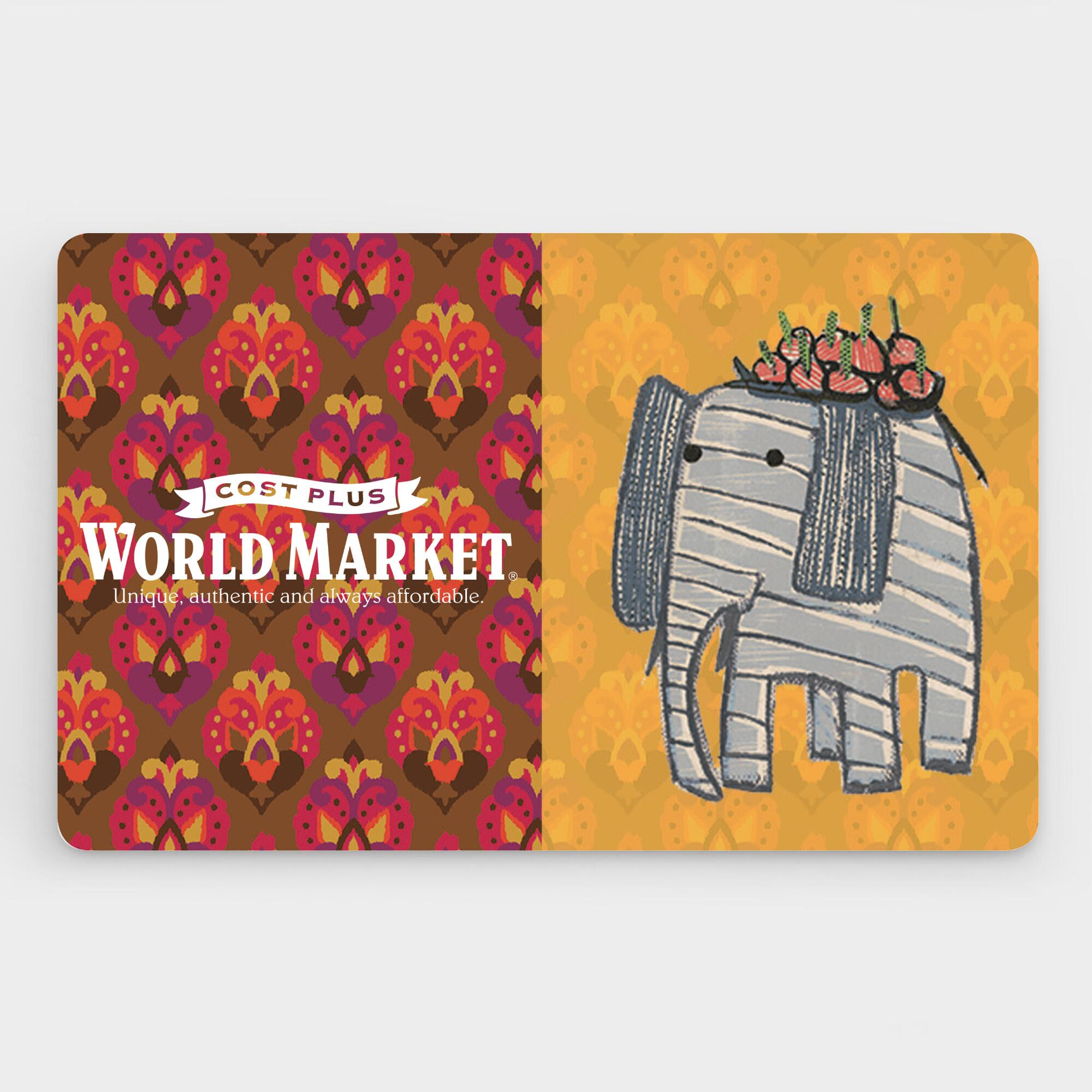 Gift Card - $25 to $500 | World Market