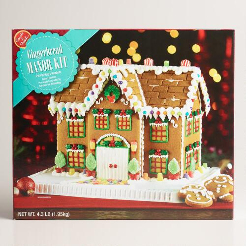 gingerbread house kits manor gingerbread house kit world market 30431