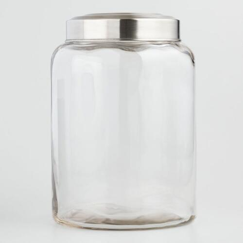 large glass kitchen storage jars large glass kitchen jar world market 8889