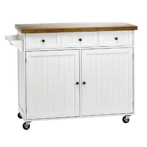 white rolling kitchen island white rolling beadboard kitchen island tree 1455