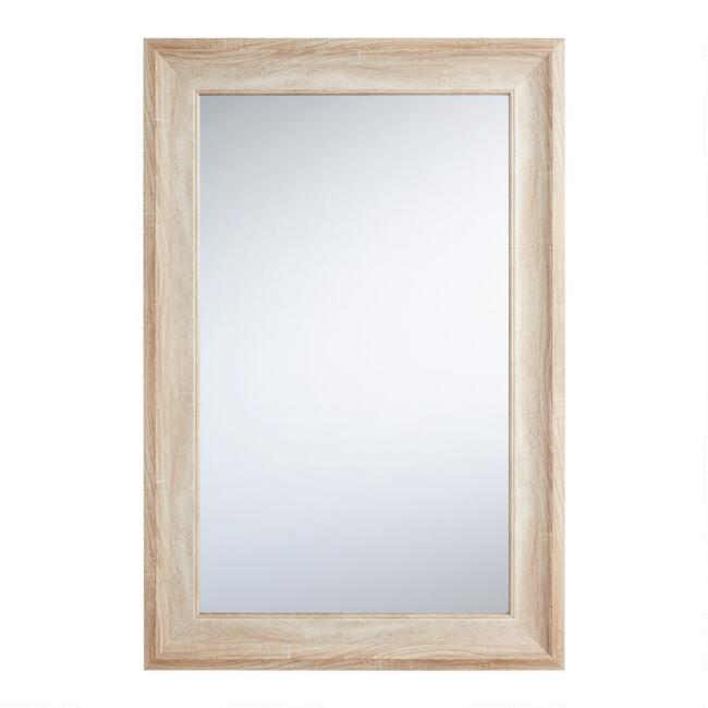 Rectangular Light Natural Mirror
