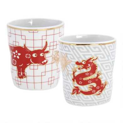 Lunar New Year Chinese Zodiac Teacup