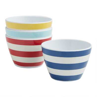 Riviera Beach Club Appetizer Bowls 4 Pack