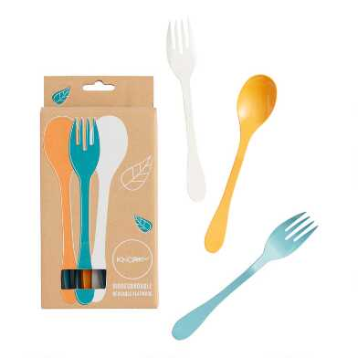 Knork Reusable Flatware 24 Piece Set