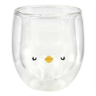 Baby Chick Double Wall Glass