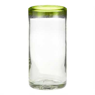 Green Rocco Highball Glasses Set of 4