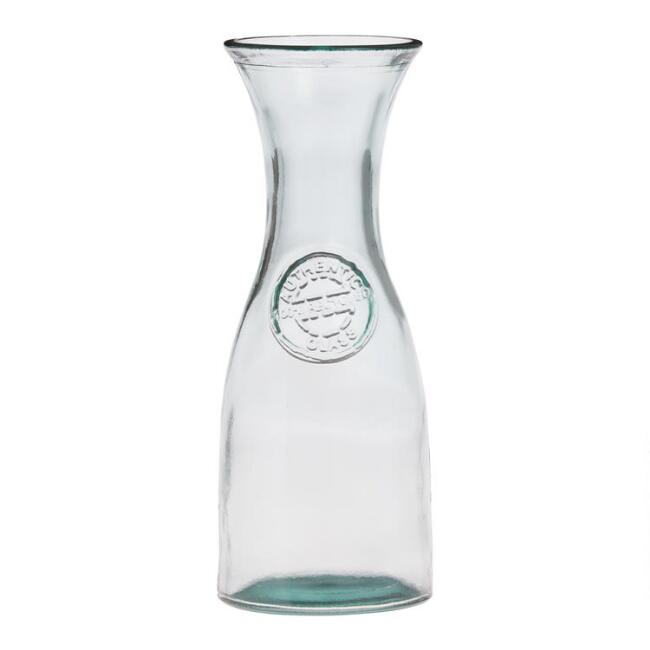 Recycled Spanish Glass Carafe