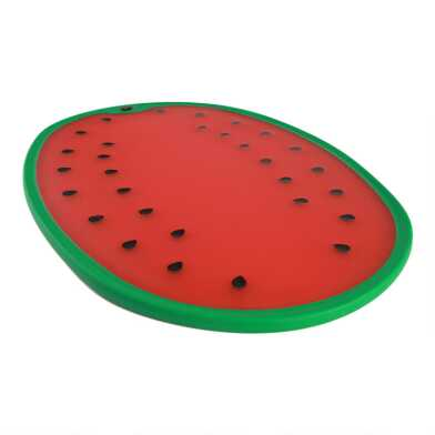 Dexas Watermelon Reversible Nonslip Cutting Board