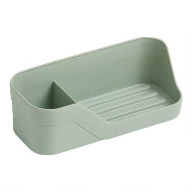 Trium Light Sage Compact Sink Organizer