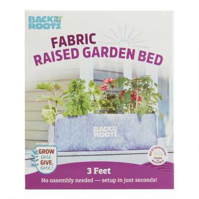 Back to the Roots Fabric Raised Garden Bed