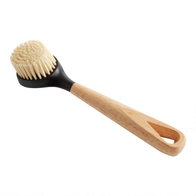 Lodge Rubberwood Scrub Brush