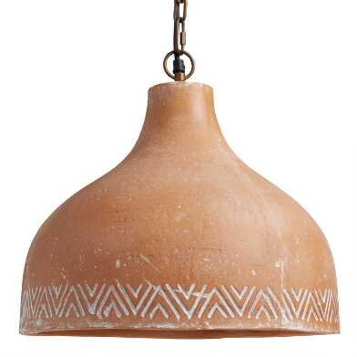 Terracotta Dome Sedona Pendant Lamp