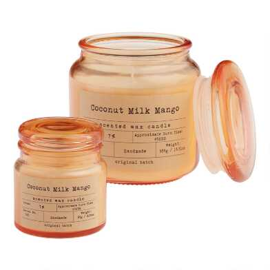 Coconut Milk Mango Apothecary Filled Jar Candle