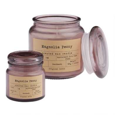 Peony & Magnolia Apothecary Filled Jar Candle