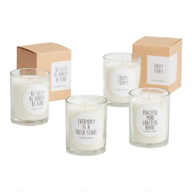 Uplifting Sentiments Boxed Filled Jar Candle