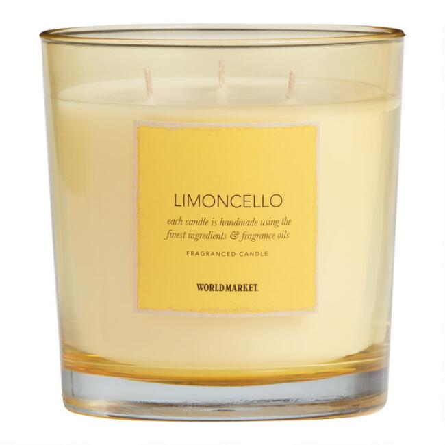 Limoncello Filled Jar Candle