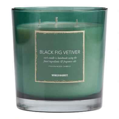 Black Fig Vetiver Filled Jar Candle