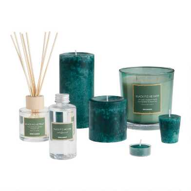 Black Fig Vetiver Candle Collection