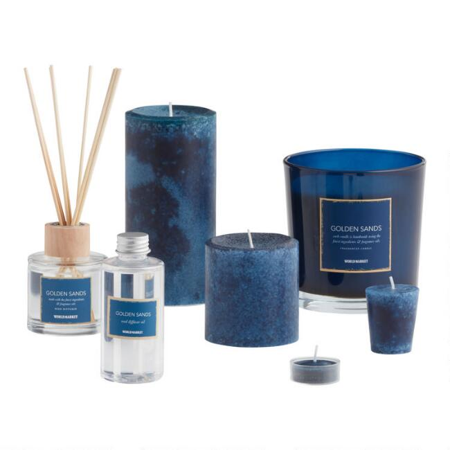Golden Sands Candle Collection
