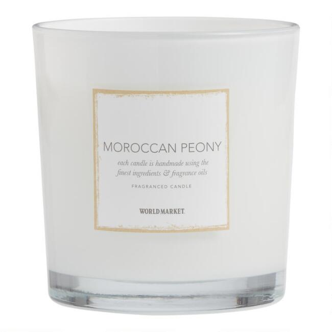 Moroccan Peony Scented Candle