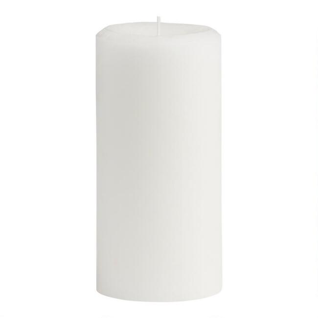 3x6 Moroccan Peony Mottled Pillar Scented Candle