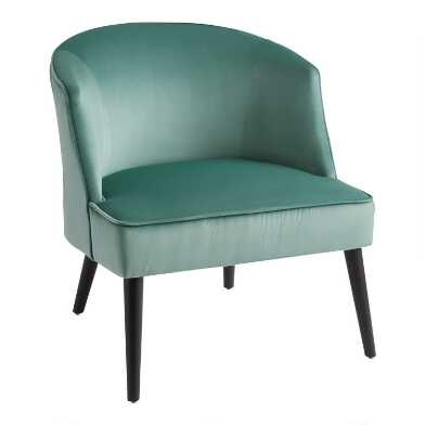 Sage Green Round Back Liah Upholstered Chair