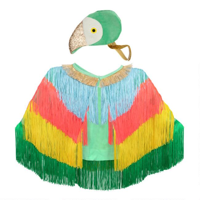 Meri Meri Kids Parrot Dress Up Costume