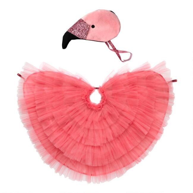 Meri Meri Kids Flamingo Dress Up Costume