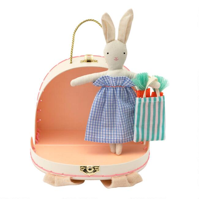 Meri Meri Mini Bunny Suitcase With Doll