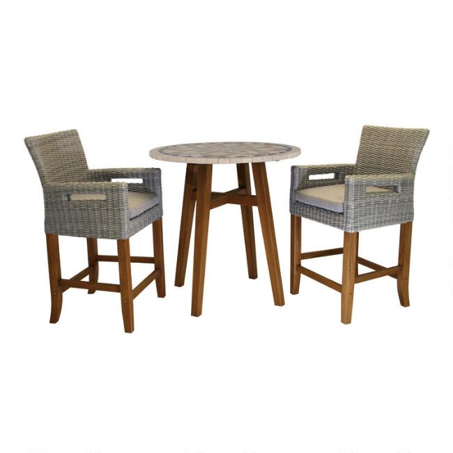 Kimo Counter Height Outdoor Dining Collection