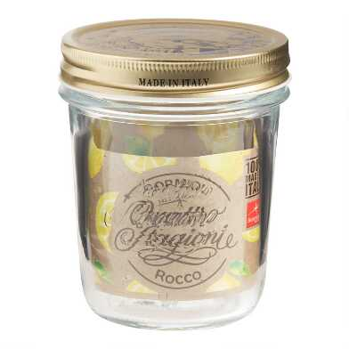 Quattro Stagioni Wide Mouth Canning Jar Set of 2