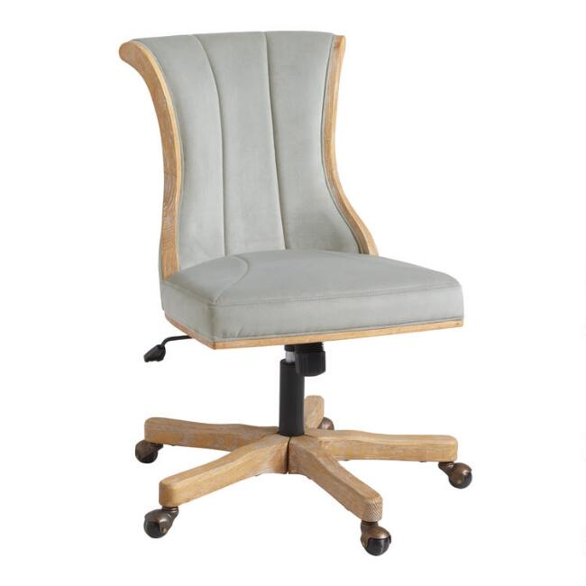 Channel Back Upholstered Office Chair