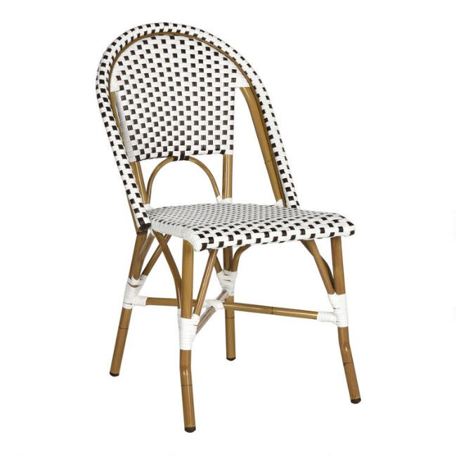 All Weather Wicker Maddie Outdoor Dining Chairs Set Of 2