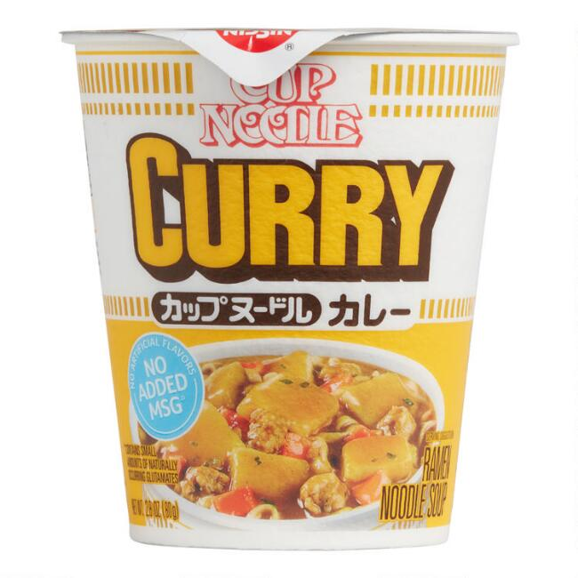 Nissin Curry Ramen Noodle Cup Set of 6