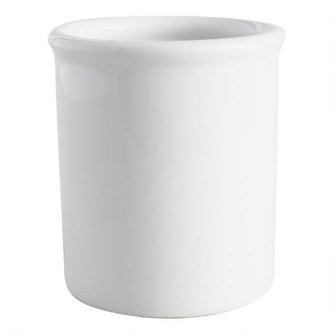 White Porcelain Utensil Holder Previous V2 V1