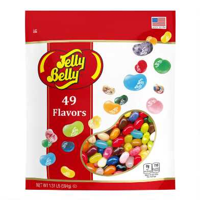 Jelly Belly 49 Flavor Jelly Beans Bag