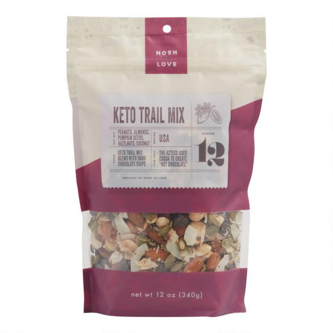 Nosh to Love Chocolate Hazelnut Keto Trail Mix