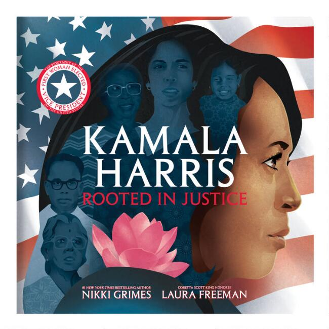Kamala Harris Rooted in Justice Book