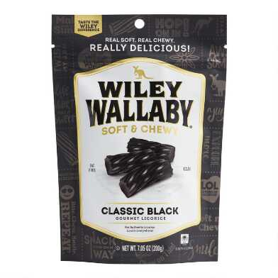 Wiley Wallaby Classic Soft Black Licorice Set Of 2