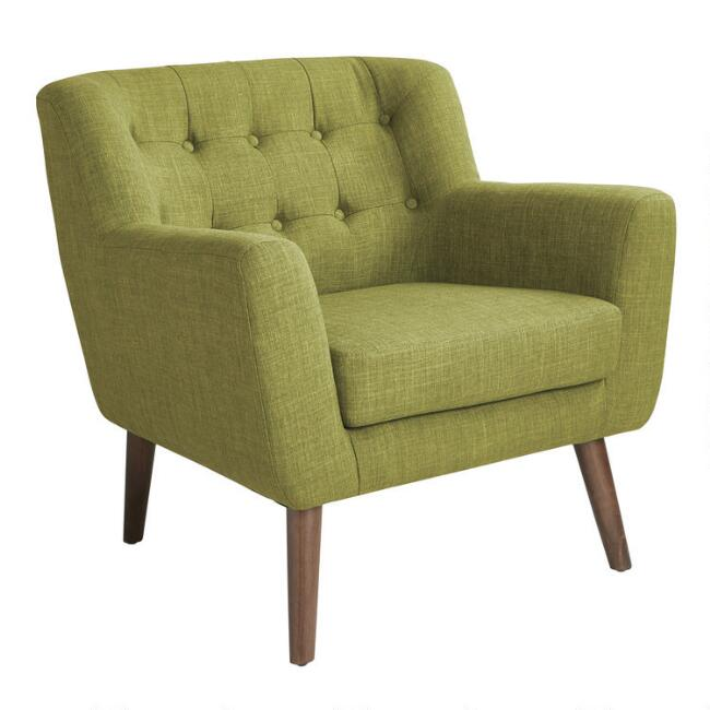 Mid Century Tufted Shay Upholstered Chair