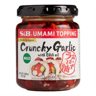 S&B Crunchy Garlic with Chili Oil Umami Topping