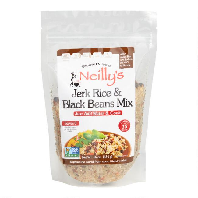 Neilly's Jerk Rice and Black Beans Mix