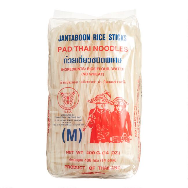 Butterfly Rice Stick Pad Thai Noodles Set of 3