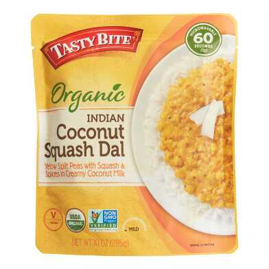 Tasty Bite Organic Coconut Squash Dal Set of 6