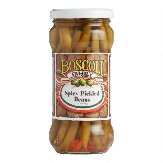 Boscoli Spicy Pickled Green Beans