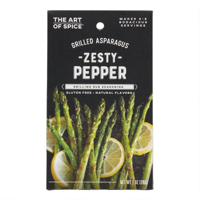 Art of Spice Peppercorn Grilled Asparagus Seasoning Set of 2