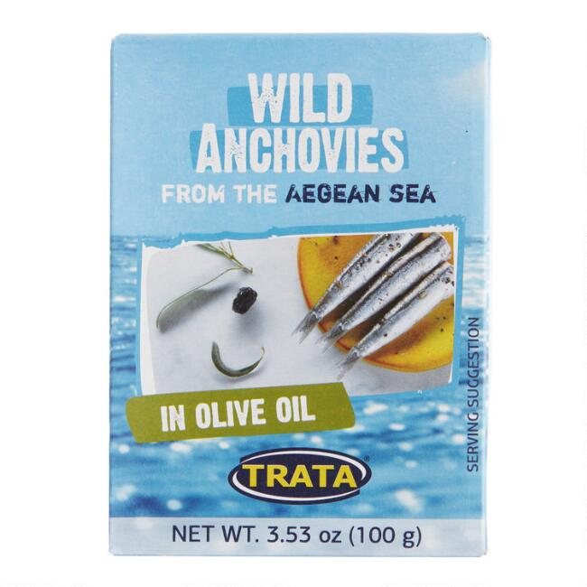 Trata Wild Anchovies in Olive Oil Set of 2