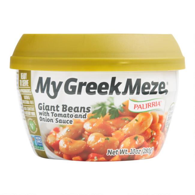 My Greek Meze Giant Beans with Tomato and Onion